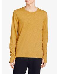 Burberry - Multicolor Devoré Long Sleeve T-shirt for Men - Lyst