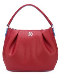 Armani Jeans - Red - 'matt' Shoulder Bag - Women - Polyester/pvc - One Size - Lyst