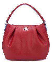 Armani Jeans - Red - 'matt' Shoulder Bag - Women - Polyester/pvc - One Size - Lyst