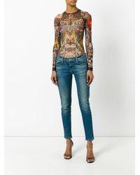 DSquared² - Black Tattoo Bodysuit - Lyst