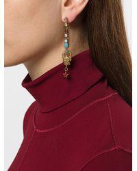Iosselliani - Multicolor Puro Satyr Earrings - Lyst