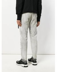 Julius - Gray Distressed Jeans for Men - Lyst