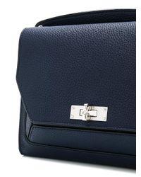 Bally - Blue Suzy Medium Shoulder Bag - Lyst