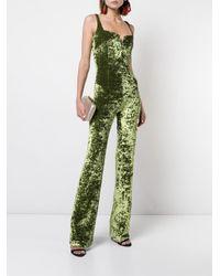 Galvan - Green Evening Jumpsuit - Lyst