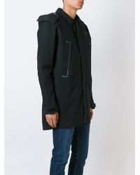 The North Face - Black Duffle Coat for Men - Lyst