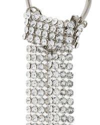 Justine Clenquet - Metallic Lux Gemstone Earrings - Lyst