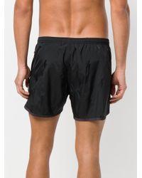 Neil Barrett - Black Piped Swim Shorts for Men - Lyst