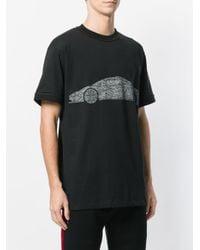 Ih Nom Uh Nit Black Car Print T-shirt for men