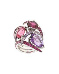 Shaun Leane - Metallic Aurora Couture Set Of Rings - Lyst