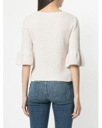 See By Chloé Multicolor Zig-zag Knit Top