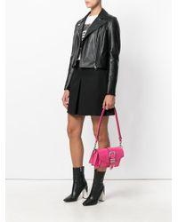 Versus  - Pink Shoulder Bag With Buckle Detail - Lyst