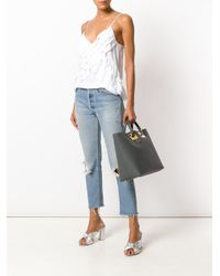 Sophie Hulme - Gray Double Handle Tote - Lyst