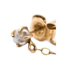 Melissa Joy Manning - Metallic 14kt Gold Pearl Chain Earrings - Lyst