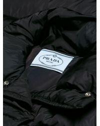 Prada Black Long Padded Coat