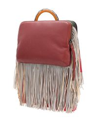 The Volon - Multicolor Fringe Bon-bon Tiger Bag - Lyst
