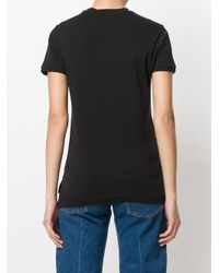 Vivienne Westwood Anglomania - Black Printed T-shirt - Lyst