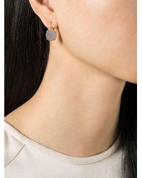 Wouters & Hendrix - Gray Grey Agate Earrings - Lyst