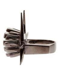 Dominic Jones - Black 'scarab Dragon' Ring for Men - Lyst