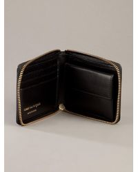 Comme des Garçons - Black Leather Coin Purse for Men - Lyst