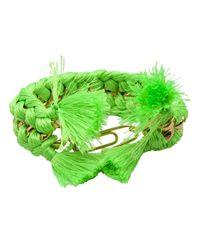 Aurelie Bidermann | Green 'do Brasil' Bracelet | Lyst
