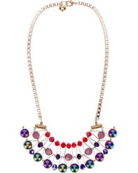 Scho - Metallic 'cake' Necklace - Lyst