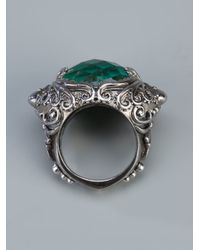 Stephen Webster - Green 'jewels Verne' Crystal Haze Octopus Ring - Lyst