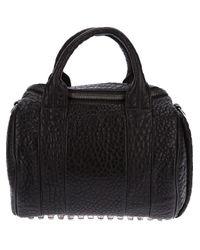 Alexander Wang | Black Rockie Mini Leather Bag | Lyst