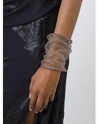 Christian Koban - Brown Cocoon Woven Bracelet - Lyst