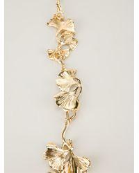 Aurelie Bidermann - Metallic 'tangerine' Necklace - Lyst
