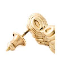 Shaun Leane - Metallic 'bound' Champagne Quartz Earrings - Lyst