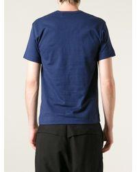 Play Comme des Garçons - Blue Comme Des Garçons Play Eye Print T-shirt for Men - Lyst