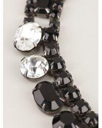 Tom Binns   Black Asymmetric Crystal Necklace   Lyst