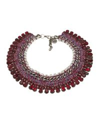 Venessa Arizaga | Metallic 'sangria Sunrise' Necklace | Lyst