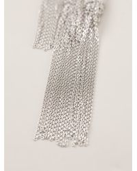 Christian Koban - Metallic 'woven' Necklace - Lyst