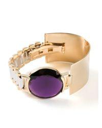 Delfina Delettrez | Metallic 'timeless' Bracelet | Lyst