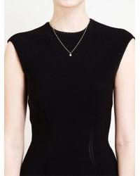 Natasha Collis | Metallic 18kt Yellow Gold And Black Diamond Nugget Necklace | Lyst