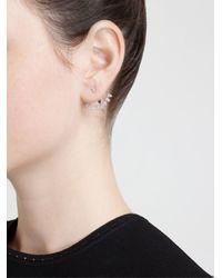 Yvonne Léon - Metallic Yvonne Léon Diamond Lobe Earring - Lyst