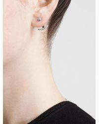 Yvonne Léon - Metallic Yvonne Léon Pearl Stud Earring - Lyst