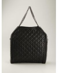 Stella McCartney - Black 'falabella' Tote - Lyst