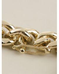 McQ - Metallic Charm Bracelet - Lyst