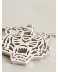 KENZO - Metallic Small Tiger Bracelet - Lyst