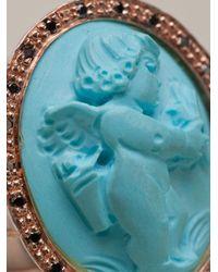 Amedeo | Blue Angel Ring | Lyst