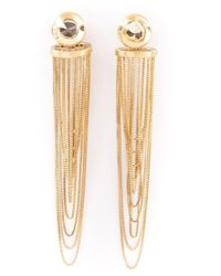Antonio Bernardo | Metallic 18kt Gold 'gaudi' Earrings | Lyst