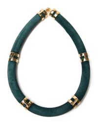 Lizzie Fortunato - Green 'double Take' Necklace - Lyst