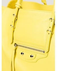 Balenciaga - Yellow 'papier A4' Tote - Lyst