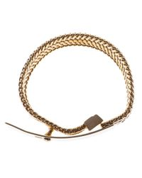 Wouters & Hendrix | Metallic Buckled Bracelet | Lyst