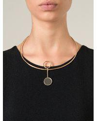Bjorg - Metallic 'the Sphinx Illusion' Necklace - Lyst