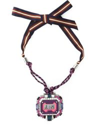 Lanvin | Multicolor Digital Watch Pendant | Lyst