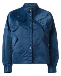 Marc By Marc Jacobs | Blue Utility Jacket | Lyst
