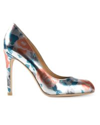 Marc By Marc Jacobs | Metallic 'jerrie Rose' Pumps | Lyst